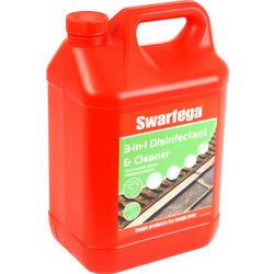 Swarfega Swarfega 3 in 1 Disinfectant & Cleaner 5L - 43739 - from Toolstation