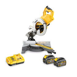 DeWalt DCS778T2-GB 54V XR Li-Ion FlexVolt 250mm Mitre Saw