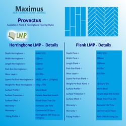 Maximus Provectus Rigid Core Flooring - Columbus