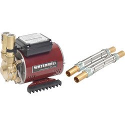 Grundfos Watermill BP65S Brass Regenerative Single Shower Pump 2.0 bar - 43857 - from Toolstation