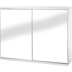 Croydex Double Door MDF Bathroom Cabinet 450 x 600 x 140mm