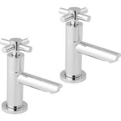 Deva Deva Motif Taps Basin Pillar - 43886 - from Toolstation