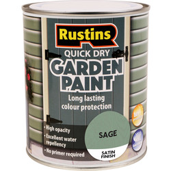 Quick Dry Garden Paint Sage 750ml