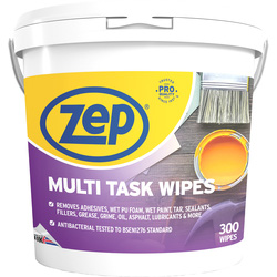 Zep Zep Commercial Multi Task Wipes 300 Wipes - 44324 - from Toolstation