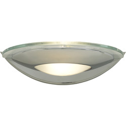 G9 LED Chrome & Glass Wall Light 2.5W G9 250lm