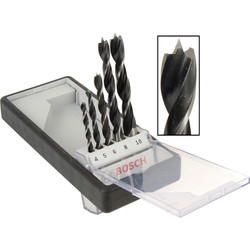 Bosch Bosch Brad Point Bit Set  - 44345 - from Toolstation