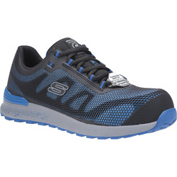 Skechers Skechers Bulklin SK77180EC Safety Trainers Blue Size 8 - 44490 - from Toolstation