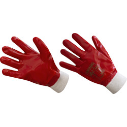 Portwest PVC Knit Wrist Gloves  - 44494 - from Toolstation