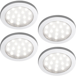 Sensio Sensio Pinto LED Round Under Cabinet Light Kit 24V Cool White - 44524 - from Toolstation