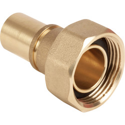 Gas Meter Union 22mm Grooved - 44602 - from Toolstation