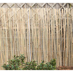 Half Bamboo Screen 4 x 1m - 44722 - from Toolstation