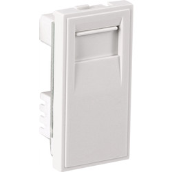 Euro Module Telephone Outlet BT Slave White - 44779 - from Toolstation