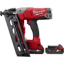 Milwaukee M18 CN16GA-202X 18V Li-Ion 16 Gauge Cordless Nailer