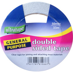 Double Sided Tape 50mm x 33m - 44920 - from Toolstation