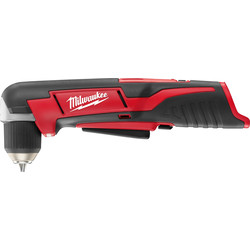 Milwaukee Milwaukee C12RAD-0 12V Li-Ion Cordless Compact Right Angle Drill Body Only - 44947 - from Toolstation