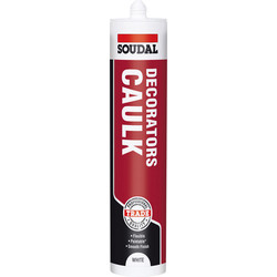 Soudal Soudal Decorators Caulk 290ml - 45080 - from Toolstation
