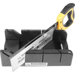 Roughneck Roughneck Mitre Box and Tenon Saw 300mm - 45128 - from Toolstation