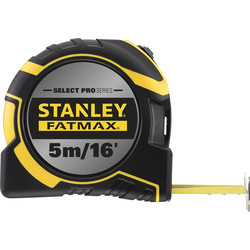 Stanley FatMax Select Pro Stanley FatMax Select PRO Autolock Tape 5m/16' - 45389 - from Toolstation