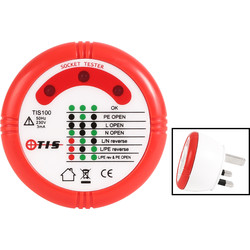 TIS TIS100 Socket Tester  - 45426 - from Toolstation