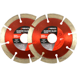 Abracs Abracs Diamond Blade GCM Trade 115 x 10mm x 22mm - 45445 - from Toolstation