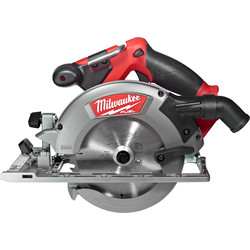 Milwaukee Milwaukee M18CCS55-0 18V Li-Ion Fuel 55mm Circular Saw Body Only - 45487 - from Toolstation