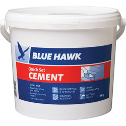 Blue Hawk Blue Hawk Quick Set Cement 5kg - 45496 - from Toolstation
