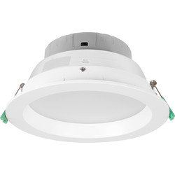 Meridian Lighting LED Round Panel Downlight 22W 1820lm - 45520 - from Toolstation