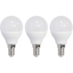 Meridian Lighting LED Frosted Globe Lamp 5.5W SES 470lm - 45522 - from Toolstation