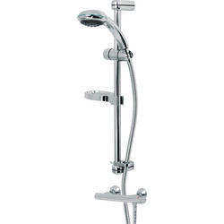Deva Complete Combi Thermostatic Mixer Shower Valve & Kit