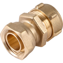 "Conex Banninger Conex 303SF Compression Straight Tap Connector 22mm x 3/4"" - 45592 - from Toolstation"