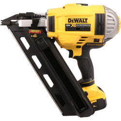 DeWalt DeWalt DCN692P2-GB 18V Brushless Cordless Nailer 2 x 5.0Ah - 45600 - from Toolstation