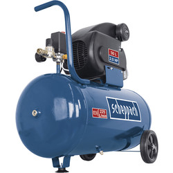 Scheppach Scheppach HC60 2.0 HP 50L Semi-Pro Air Compressor - 10 bar 230V - 45602 - from Toolstation