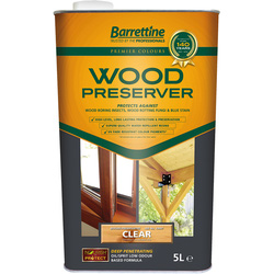 Barrettine Barrettine Wood Preserver 5L Clear - 45685 - from Toolstation