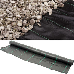 Apollo Heavy Duty Landscape Fabric 1 x 14m - 45800 - from Toolstation