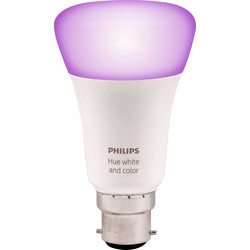 Philips Hue Philips Hue White and Colour Ambiance Lamp B22/BC - 45877 - from Toolstation