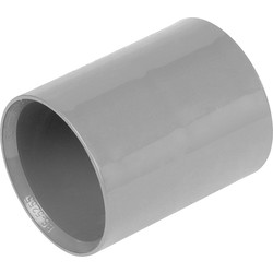 Aquaflow Solvent Weld Straight Coupling 40mm Grey - 45903 - from Toolstation
