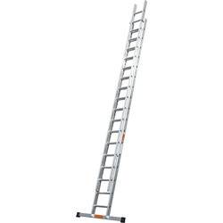 TB Davies TB Davies Pro Trade Double Extension Ladder 4.5m - 45987 - from Toolstation