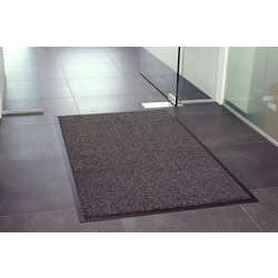 Blue Diamond Dayton Entrance Mat 1.5m x 0.9m - Anthracite - 46015 - from Toolstation