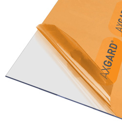 Axgard Axgard 2mm Polycarbonate Clear Impact Resisting Glazing Sheet 1000 x 2000mm - 46028 - from Toolstation