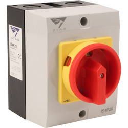 IMO Stag IMO Stag 4 Pole Rotary Isolator 20A IP65 - 46079 - from Toolstation