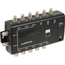 PROception PROception Dual Mode Sky/Freeview Amplifier & Flexible Power 10 Way Internal Amp - 46096 - from Toolstation