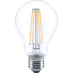 Integral LED Integral LED Filament GLS Dimmable Lamp 7W ES (E27) 806lm - 46099 - from Toolstation
