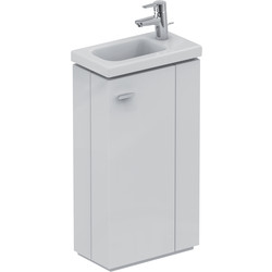 Ideal Standard Ideal Standard Senses Space Basin & Unit Right Hand White Gloss - 46205 - from Toolstation