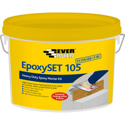 Everbuild Epoxyset 105 Standard Concrete Repair 4kg - 46209 - from Toolstation