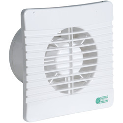 airvent Airvent 100mm Low Profile Extractor Fan Humidistat - 46262 - from Toolstation