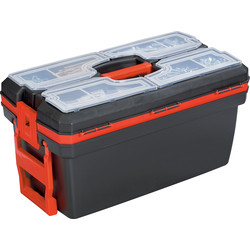 "Olympia Olympia Toolbox with Wheels and Pull Handle 610mm (24"") - 46322 - from Toolstation"