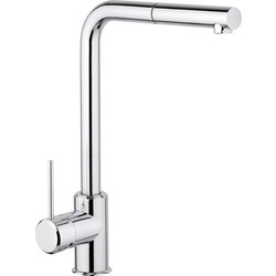 Franke Franke Sirius Pull Out Mono Mixer Kitchen Tap Chrome - 46360 - from Toolstation