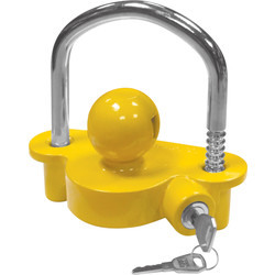 Hitch Coupling Lock 100mm x 100mm - 46374 - from Toolstation