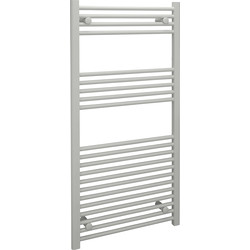Kudox Kudox White Flat Ladder Towel Radiator 1200 x 600mm 1976Btu - 46383 - from Toolstation