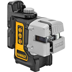 DeWalt DeWalt DW089K-XJ 3 Way Self-Levelling Multi Line Laser Level Red - 46416 - from Toolstation